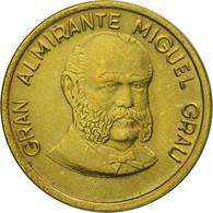 Monnaie, Pérou, 20 Centimos, 1986, Lima, SUP, Laiton, KM:294 - Pérou