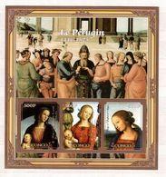 CONGO   Painting, P.Perugino,   Sheetlet  Imperf. - Art