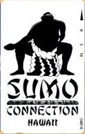 Hawaii - GTH-SPr22, Sumo Connection - Hawaii (Black & White Design Sumo Wrestler), 10U, 5.000ex, Mint - Hawaii
