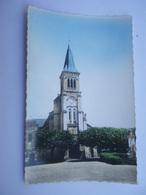CPSM HAUTE VIENNE 86 - SAINT GEORGES LES BAILLARGEAUX L'EGLISE - France