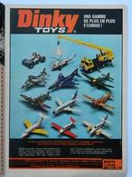 PUB AIRFIX - DINKY Toys - MARKLIN - Banque CGER - MARS CODACO - STARLUX - MATCHBOX - TINTIN N°45 27 Année - 1972 - Pubblicitari