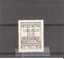 Ruanda-Urundi - 121 - XX/MNH - 1924-44: Neufs