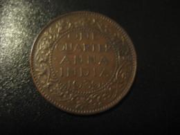 One Quarter Anna 1/4 INDIA 1939 GEORGE VI Coin Inde British Area Colony - Inde