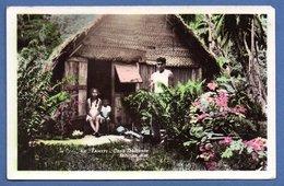 Tahiti   / Case Tahitienne / Coin Abimé - French Polynesia