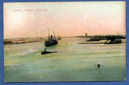 Canal / Entrée à Port SaÏd - Port Said