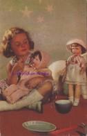 CPA-thème Poupée-puppe-doll -le Repas De La Poupée - Jeux Et Jouets