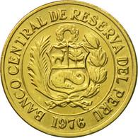Monnaie, Pérou, Sol, 1976, Lima, SUP, Laiton, KM:266.1 - Pérou