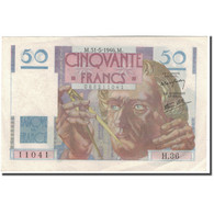 France, 50 Francs, 50 F 1946-1951 ''Le Verrier'', 1946-05-31, SPL, Fayette:20.5 - 1871-1952 Circulated During XXth