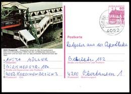84681) BRD - P 138 - S1/14 - OO Gestempelt - 5600 Wuppertal, Schwebebahn - [7] West-Duitsland