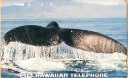 Hawaii - GTH-54, Humpback Whale Tail, 10U, 5.000ex, Mint - Hawaii