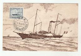 1946 SPA Philatelic EXHIBITION Card OSTEND DOVER LINE SHIP Centenary Stamps EVENT Cover BELGIUM - Belgium