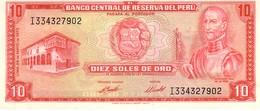 Peru P.100 10 Soles 1973 Unc - Perù