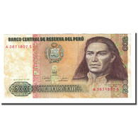 Billet, Pérou, 500 Intis, 1987-06-26, KM:134b, TTB+ - Pérou