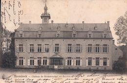 Strombeek Château De Blommendael Vu Derrière - Grimbergen