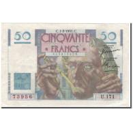 France, 50 Francs, 50 F 1946-1951 ''Le Verrier'', 1951-02-01, SPL - 1871-1952 Antiguos Francos Circulantes En El XX Siglo