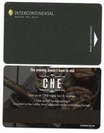 Inter-Continental, Tel Aviv, Israel, Used Magnetic Hotel Room Key Card, # Intercontinental-147 - Hotel Keycards