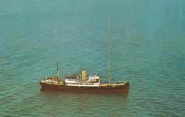 Postcard Radio Caroline Ramsey Bay Isle Of Man Between C 1964 And 1968 My Ref  B12450 - Isle Of Man