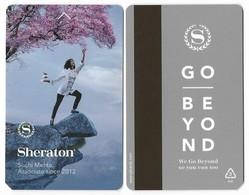 Sheraton  Hotels, Used Magnetic Hotel Room Key Card #   Sheraton-123 - Hotel Keycards