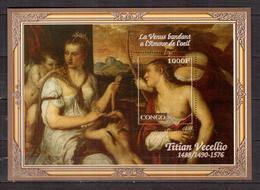 CONGO   Painting, Tiziano Vecellio,  SS  Perf. - Fantasie Vignetten