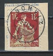 SBK 115 Stempel Somvix - Svizzera