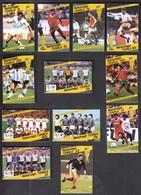 Tuvalu Nanumaga / Football, Soccer / World Cup Mexico 1986 / Michel 81-87 - Fußball-Weltmeisterschaft