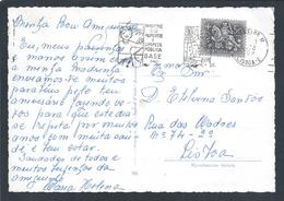 Food Hygiene.Public Cleaning.Portugal.Spider.mice.Excellent Streamer On Hygiene And Health Circulated Lisbon 1972.2scan - Umweltverschmutzung
