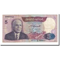Billet, Tunisie, 5 Dinars, 1983-11-03, KM:79, TB - Tunisie