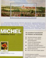Stamps Of The World MICHEL 8/2018 Neu 6€ Briefmarken Rundschau Catalogue/magacine Of Germany ISBN 978-3-95402-600-5 - Philately And Postal History