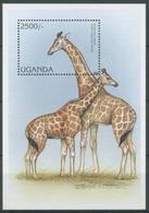 Uganda 1997 WWF Naturschutz Rothschild-Giraffe Block 269 Postfrisch (C23479) - Oeganda (1962-...)