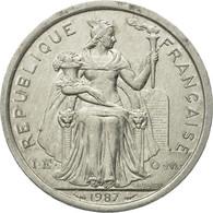 Monnaie, French Polynesia, 2 Francs, 1987, Paris, TTB+, Aluminium, KM:10 - French Polynesia