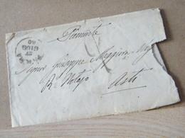 MONDOSORPRESA, FRANCHIGIA - ANNULLO PARMA, ANNO 1860 VEDI FOTO - Parma