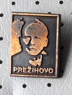 Lovro Kuhar Prezihov Voranc Writer Poet Slovenia Pin - Celebrities