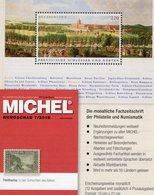 New Stamps Of The World MICHEL 7/2018 Neu 6€ Briefmarken Rundschau Catalogue/magacine Germany ISBN978-3-95402-600-5 - Topics