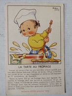 Illustrateur Beatrice Mallet. Margarine ASTRA. Recette Tarte Au Fromage - Mallet, B.