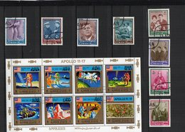 LOT  1 FEUILLET + SERIE OBL. - Postzegels