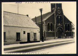 X01 - België - Asse - Asse-Terheide - Kerk / Woonhuis De Leeuw - 10 Cm X 7 Cm - Lieux
