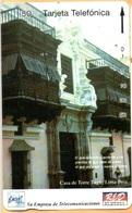 Peru - PE-M8A, Entel/RED, Tamura, Casa De Torre Tagle, Lima, 50U, 10.000ex, 4/94, Used - Peru