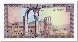 LEBANON,10 LIVRES,1986,P.63f,UNC - Lebanon