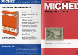 Briefmarken Rundschau MICHEL 7/2018 New 6€ Stamps Of The World Catalogue/magacine Of Germany ISBN 978-3-95402-600-5 - Encyclopedias