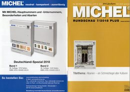 MICHEL-Rundschau Briefmarken 7/2018-plus Neu 6€ New Stamps World Catalogue/magacine Of Germany ISBN 978-3-95402-600 - Collections