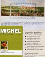 MICHEL Briefmarken Rundschau 8/2018 Neu 6€ Stamps Of The World Catalogue/magacine Of Germany ISBN 978-3-95402-600-5 - Philatélie