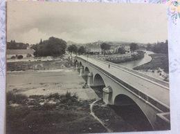 CPA Gigantesque - Montelimar - Le Pont Sur Le Roubion, Entrée De La Ville - Montelimar