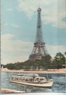 Paris La Tour Eiffel (Cliché Hallery) Souvenir D'une Promenade Vedettes Paris Tour Eiffel - Tour Eiffel