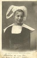 PONT-AVEN  -- Jeune Fille, étude De Coiffes De Bretagne                                                 -- Villard 1235 - Pont Aven