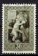 Liechtenstein 1952 // Mi. 307 O (027507) - Oblitérés