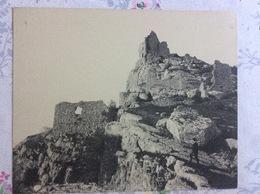 CPA Gigantesque - Crussol - Ruines D Un Château Féodal Du XIIe Siècle - France
