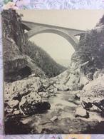 CPA Gigantesque - Le Pont De La Goule Noire - France