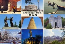 Greetings Fron Iraq - Formato Grande Viaggiata – E 7 - Iraq