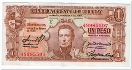 URUGUAY,1 PESO,L.1939,P.35b,XF - Uruguay