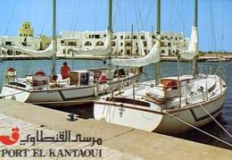 Port El Kantaoui - Formato Grande Viaggiata – E 7 - Cartoline
